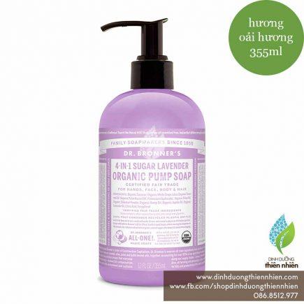 DrBronner_OrganicPumpSoap_Lavender_355