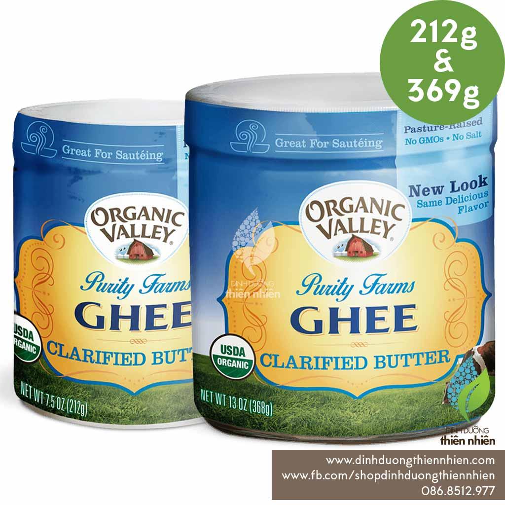 Bơ ghee hữu cơ Organic Valley