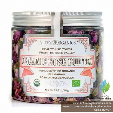 Trà hoa hồng hữu cơ