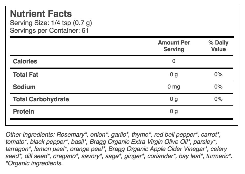 Bragg_herbsseasoning_nutritionfacts