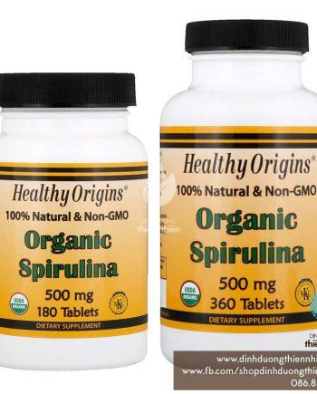 HealthyOrigins_Organic-Spirulina_180&360tablets_500mg_01