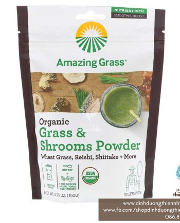 AmazingGrass_Grass&ShroomsPowder_150g_01